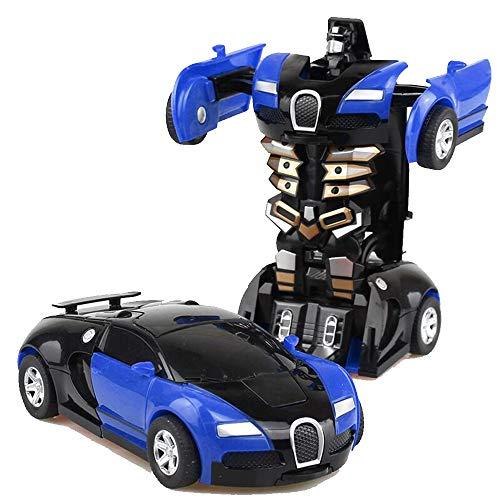 Roboter-Auto Transformers, Kinderspielzeug, Dual Mode 360 °, drehbar, Stunt-Auto