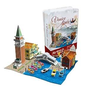3D Puzzle Venise Italie Venezia Venice Town Venedig Italia Italien Cubic Fun