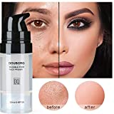 Xiton 1 botella de imprimación de maquillaje invisible para poros sin poros Essence All Matte Face Primer Oil Control PreMakeup Cream Natural Blur Primer Soft Smooth Gel (0.4 oz)