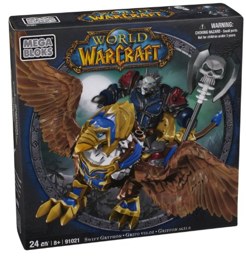 Mega Bloks 91021 - Warcraft Swift Gryphon Y Graven