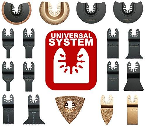 Hobbypower24© Set 2x/4x/6x Tauchsägeblatt / Japan Precision Sägeblatt 35mm Holz & Kunststoff für Multimaster Multi Cutter Multifunktionswerkzeug Fein Bosch Makita (6)