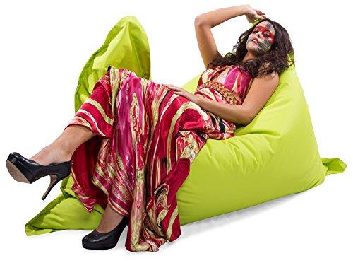 Kinzler S-10026/27 XXL Riesensitzsack – Outdoor Indoor – in vielen verschiedenen Farben – Apfel Grün - 3