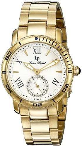 Lucien Piccard Womens Analogue Quartz Watch with Stainless Steel Strap LP-40031-YG-22S