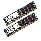 2GB Dual Channel Kit (2x 1GB) für Dell Dimension 3000 DDR1 400MHz (PC-3200U) Dimm Arbeitsspeicher RAM Memory