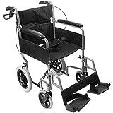 NRS Healthcare n29210- silla de ruedas de tránsito, ligera, plegable