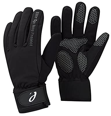 Elite Cycling Project Malmo Waterproof Winter Cycling Gloves Padded Palms Thinsulate Lined from Elite Cycling Project