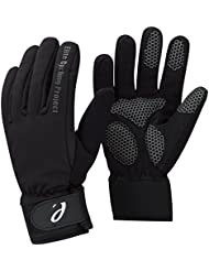 Elite Cycling Project Malmo impermeable invierno ciclismo Guantes palmas acolchadas con forro Thinsulate, hombre, color negro, tamaño small