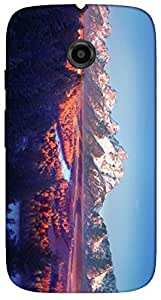 Timpax protective Armor Hard Bumper Back Case Cover. Multicolor printed on 3 Dimensional case with latest & finest graphic design art. Compatible with Motorola Moto -E-2 (2nd Gen )Design No : TDZ-28560