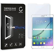 CELLONIC® Cristal protector de la pantalla para Samsung Galaxy Tab S2 8.0 (SM-T710/SM-T713/SM-T715) Calidad HD / transparente / 0.33mm / 9H / Alta Transparencia, - Vidrio Templado Blindado Tempered Glass