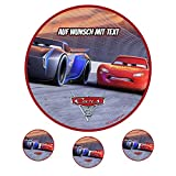 Tortenaufleger Geburtstag Tortenbild Zuckerbild Oblate Motiv: Disney Cars 01 (Oblatenpapier)