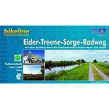 Bikeline Eider-Treene-Sorge-Radweg 1 : 50 000.  GPS-Track Download.  wetterfest und reißfest