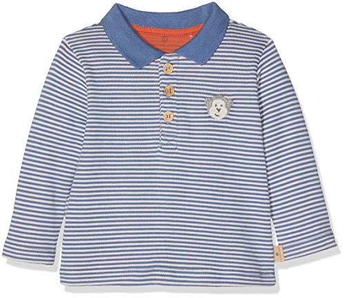 Bellybutton Kids Bellybutton mother nature & me Baby-Jungen Poloshirt Polohemd 1/1 Arm Bijou Blue 62