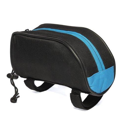 TOOGOO(R) Borsetta Blu per Tubo Anteriore Bici MTB Corsa