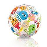 Kinder Aufblasbarer Strandball Wasserball für Stand Urlaub, 36 cm Ø (A)