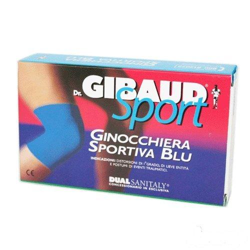 Dr. Gibaud Sport ginocchiera sportiva blu tg.04