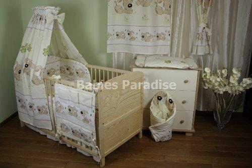 Baby Bettwäsche Set (Hund) BBS-005 (5 tlg, Beige)
