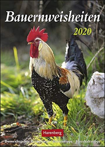 Bauernweisheiten Kalender 2020: Bauernregeln, Brauchtum, Gartentipps, Haushaltstipps