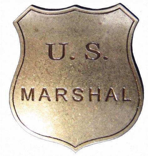 Abzeichen US Marshal