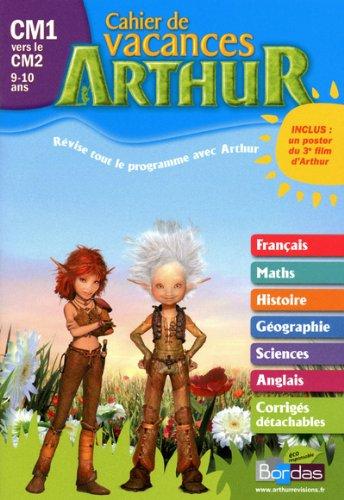 Cahier vacances Arthur CM1/CM2 2011