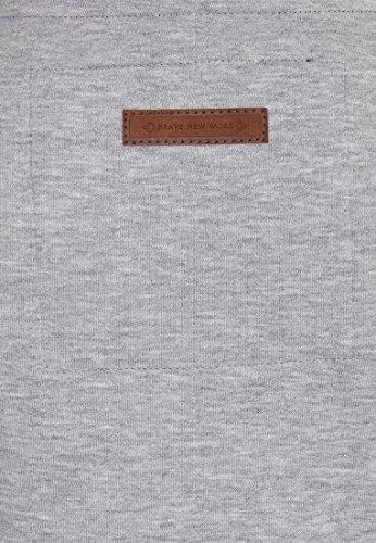 Naketano Female Zipped Jacket Hamza Bau ma IV Grey Melange