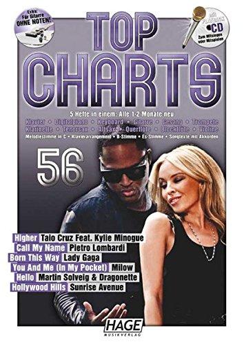 Top Charts 56 mit CD: Die Hit-Serie mit den aktuellen Chart-Stürmern aus Rock und Pop