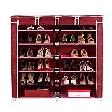 Pindia Fancy Fabric Shoe Rack Organizer,...