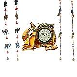 APKAMART Handcrafted Set of Camel Vintag...