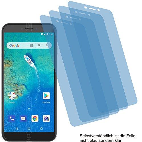 4ProTec 4X ANTIREFLEX matt Schutzfolie für General Mobile GM 8 Go Bildschirmschutzfolie Displayschutzfolie Schutzhülle Bildschirmschutz Bildschirmfolie Folie
