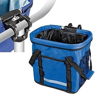 AutoScheich® Fahrradkorb Fahrradtasche Transporttasche für Hunde Box Fahrrad MTB mit Halterung