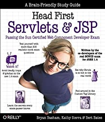 Head First Servlets and JSP: Passing the Sun Certified Web Component Developer Exam (SCWCD) by Bryan Basham (2004-07-23)