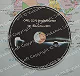 OPEL Navigation Update CD70 CD-Deutschland 2015 Letzte