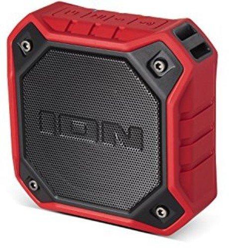 ION Audio Dunk Altoparlante Bluetooth, Rosso