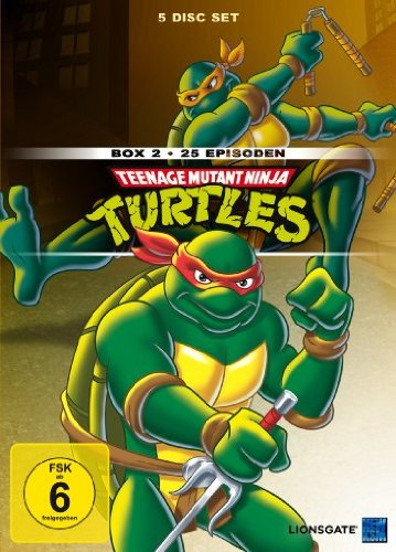 Teenage Mutant Ninja Turtles - Box 2 (5 DVDs)