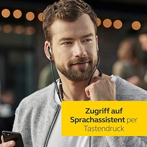 Jabra Elite 65e Wireless Stereo ANC in-Ear-Kopfhörer (Bluetooth, professionelles Active Noise Cancellation, Nackenbügel, Sprachsteuerung für Alexa, Siri und Google Assistant) kupfer schwarz - 5