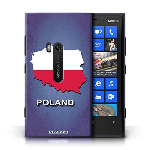 Kobalt® Imprimé Etui / Coque pour Nokia Lumia 920 / nouvelle Zélande conception / Série Drapeau Pays Pologne/Polonais