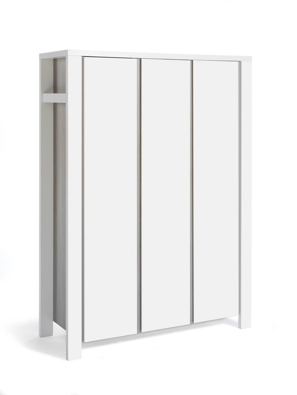 Schardt Milano Pine 3-TÃ1/4riger Kleiderschrank Schardt Wardrobe with 3 doors Doors with Soft Close System 7 base panels, 2 clothes rail 1