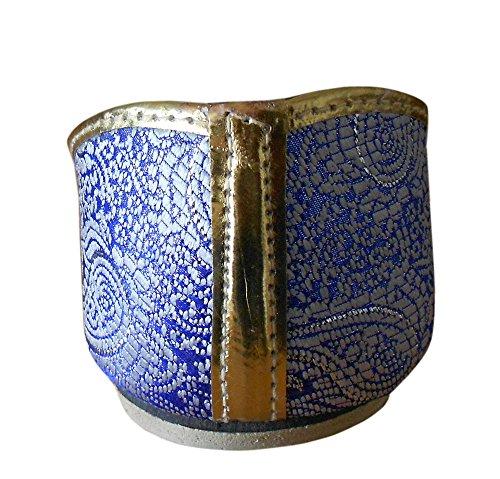 Kalra Creations , Herren Hausschuhe himmelblau/blau