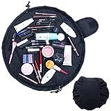 Uworth Lazy Cosmetic Bag Pouch Grande Borsa Cosmetica Per Donna Portatile da Viaggio Nero