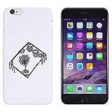 Weiß 'Fliegender Teppich' Hülle für iPhone 6 Plus & 6s Plus (MC00145974)