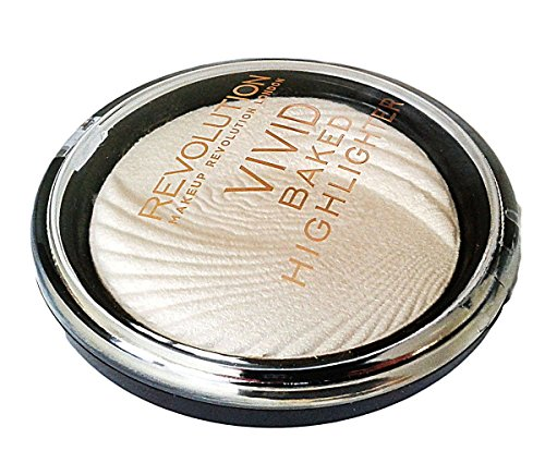 Makeup Revolution - Vivid Baked Highlighter Golden Lights