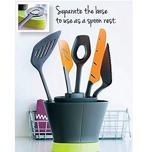 TUPPERWARE Griffbereit Griff-Fix schwarz-grün D168 Ordnungstopf TOP-Küchenprofi 9042