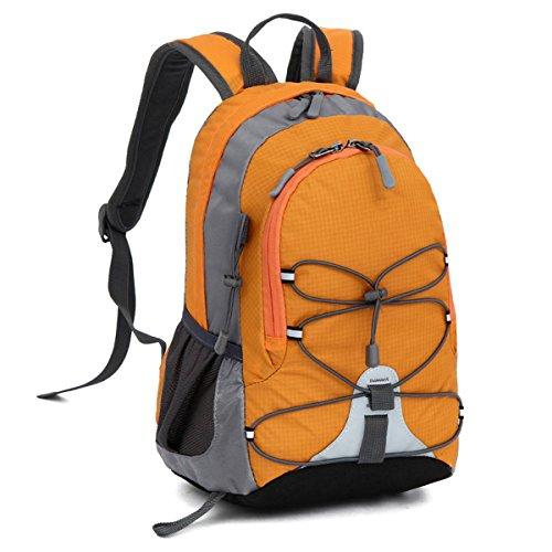 ECYC® Jungen Mädchen Schultaschen Outdoor Rucksack Mini Kleine Bookbags 10L, Orange (Kleines Mädchen Bookbags)