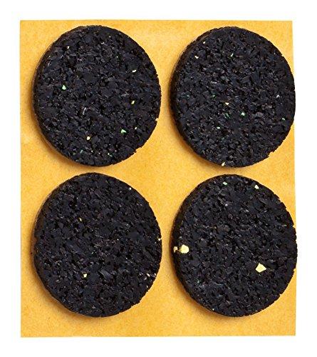 haggiy® Anti-Rutsch-Pad (Rutschhemmer für Möbel, Sofas, Tische) selbstklebend, Ø 35 mm (4 Stück)