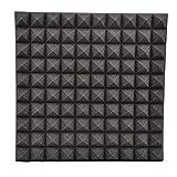 Winnerruby Panneaux acoustiques 50 cm Pyramidal DIY Autocollants muraux Isolation sonore Réduction du Bruit pour la Maison salles de Classe KTV