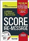 Score IAE-Message - 2020 - Tout-en-un par Speller