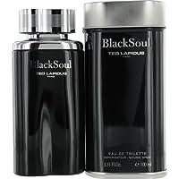 Ted Lapidus Black Soul For Men - Eau de Toilette, 100 ml