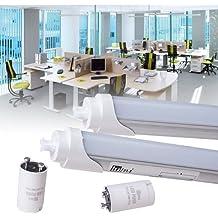 Tubo LED SMD T8G13Tubo Fluorescente Tubular (lámpara, 120cm 20W Kaltweiß, G13, 20.0 wattsW, 230.00 voltsV