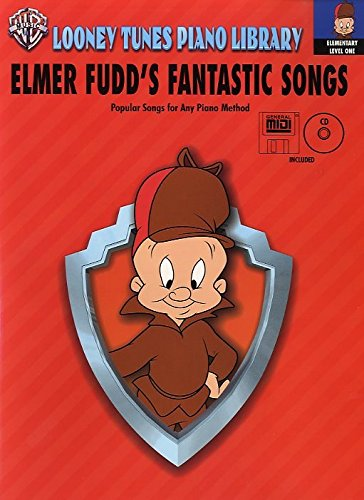 looney-tunes-piano-library-elmer-fudds-fantastic-songs-bk-cd-midi-cd-partitions-disquette-pour-piano