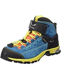 Salewa Jr Alp Player Mid Gore-Tex, Chaussures de Randonnée Hautes Mixte Enfant