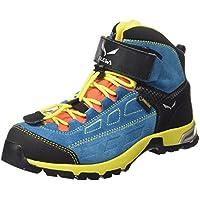 Salewa Jr Alp Player Mid Gore-tex, Chaussures de Randonnée Mixte Enfant